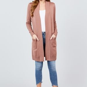 🍁JUST IN🍁LONG SLEEVE OPEN FRONT CARDIGAN SWEATER